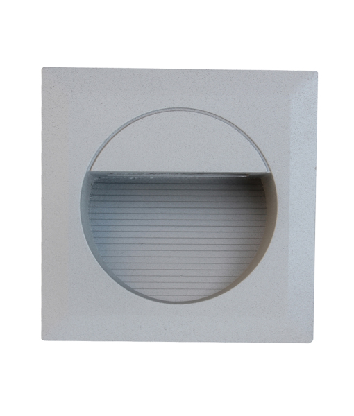led exterior square recessed wall lights cla lighting new zealand
